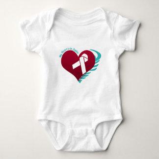My Heart's In Joplin Baby Bodysuit