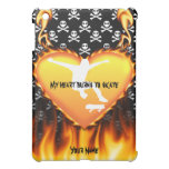 My heat burns to skate design cover for the iPad mini