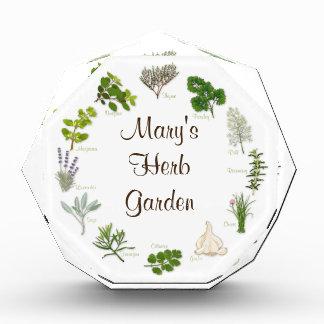 My Herb Garden Acrylic Award