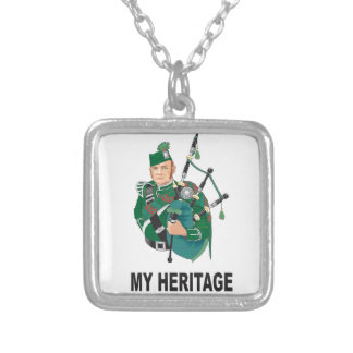 my Heritage Silver Plated Necklace