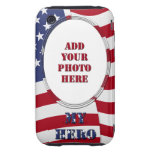 My Hero - Add Your Photo Tough iPhone 3 Cases