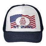 My Hero - Add Your Photo` Trucker Hat