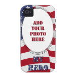 My Hero - Add Your Photo Vibe iPhone 4 Cover