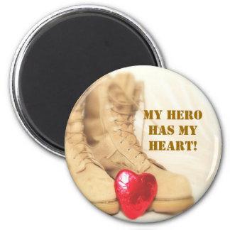 my hero has my heart magnet