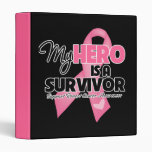 My Hero is a Survivor - Breast Cancer Binders