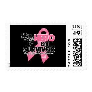 My Hero is a Survivor - Breast Cancer Stamps