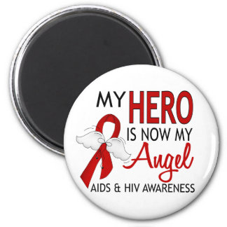 My Hero Is My Angel AIDS Magnet