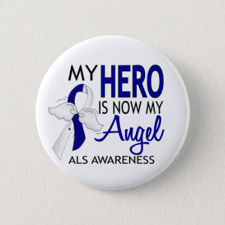 My Hero Is My Angel ALS Button