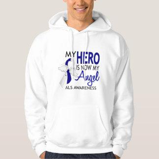 My Hero Is My Angel ALS Hooded Sweatshirt