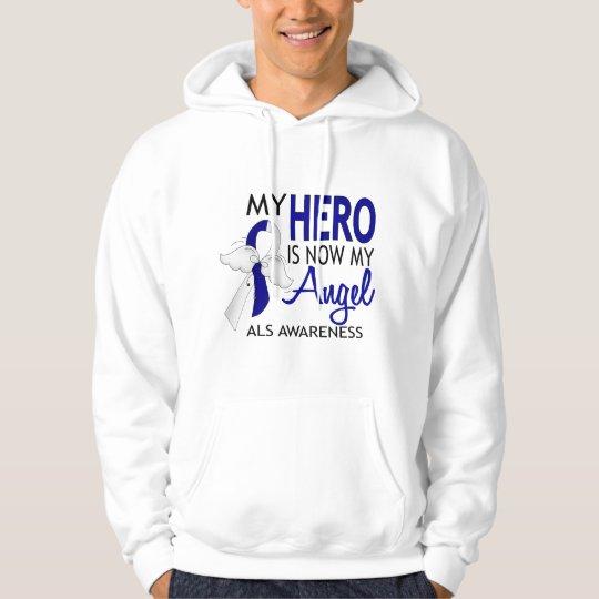 My Hero Is My Angel ALS Hoodie