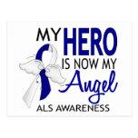 My Hero Is My Angel ALS Post Cards