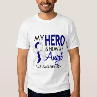 My Hero Is My Angel ALS Tee Shirt
