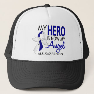 My Hero Is My Angel ALS Trucker Hat
