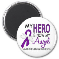 My Hero Is My Angel Alzheimer's Disease Magnet