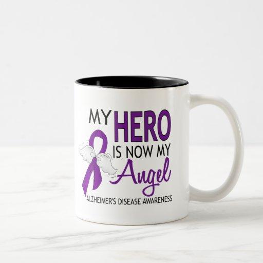 My Hero Is My Angel Alzheimer's Disease Coffee Mugs