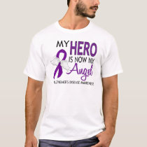 My Hero Is My Angel Alzheimer's Disease T-Shirt