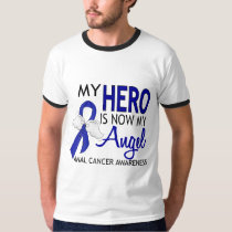 My Hero Is My Angel Anal Cancer T-Shirt