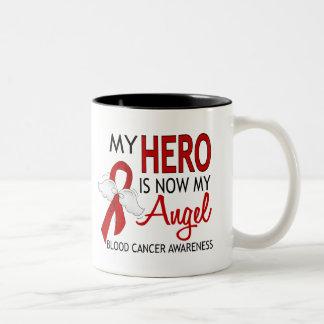 My Hero Is My Angel Blood Cancer Coffee Mug