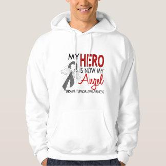My Hero Is My Angel Brain Tumor Hooded Sweatshirt