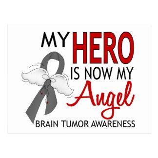 My Hero Is My Angel Brain Tumor Postcard
