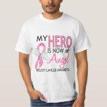 My Hero Is My Angel Breast Cancer Shirt