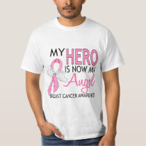 My Hero Is My Angel Breast Cancer T-Shirt