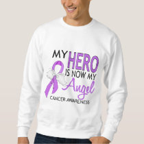 My Hero Is My Angel Cancer Sweatshirt