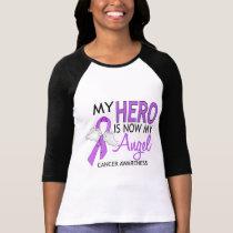 My Hero Is My Angel Cancer Tees