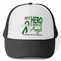 My Hero Is My Angel Cerebral Palsy Trucker Hat