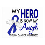 My Hero Is My Angel Colon Cancer Postcards