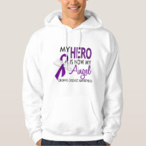 My Hero Is My Angel Crohn's Disease Hoodie