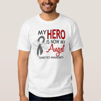 My Hero Is My Angel Diabetes T-Shirt