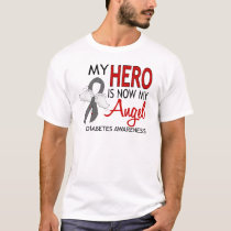 My Hero Is My Angel Diabetes T-Shirt