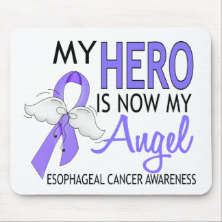 My Hero Is My Angel Esophageal Cancer Mouse Pad