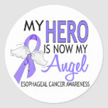 My Hero Is My Angel Esophageal Cancer Stickers