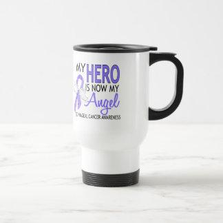 My Hero Is My Angel Esophageal Cancer Travel Mug