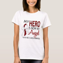My Hero Is My Angel Head And Neck Cancer T-Shirt