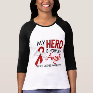 My Hero Is My Angel Heart Disease T-Shirt