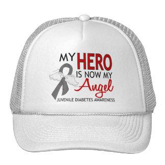 My Hero Is My Angel Juvenile Diabetes Trucker Hat
