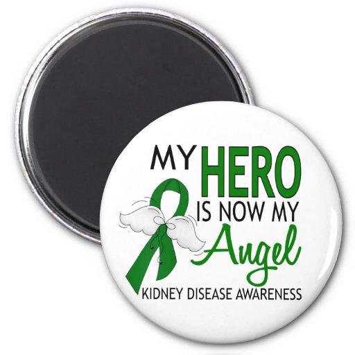 My Hero Is My Angel Kidney Disease Fridge Magnet
