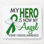 My Hero Is My Angel Kidney Disease Mouse Pad