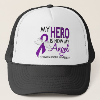 My Hero Is My Angel Leiomyosarcoma Trucker Hat