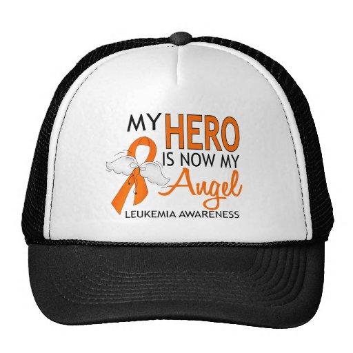 My Hero Is My Angel Leukemia Hat