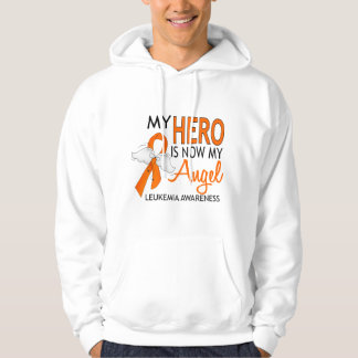 My Hero Is My Angel Leukemia Hoodie