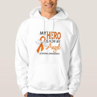 My Hero Is My Angel Leukemia Hoodie