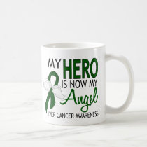My Hero Is My Angel Liver Cancer Coffee Mug