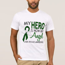 My Hero Is My Angel Liver Disease T-Shirt