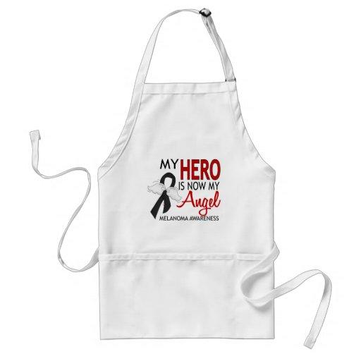 My Hero Is My Angel Melanoma Aprons