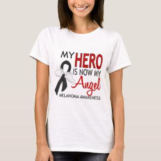 My Hero Is My Angel Melanoma T-Shirt