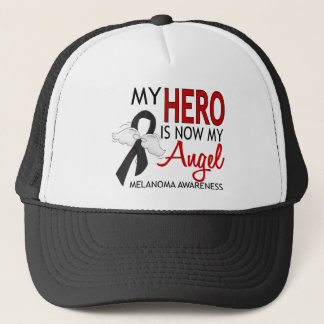 My Hero Is My Angel Melanoma Trucker Hat